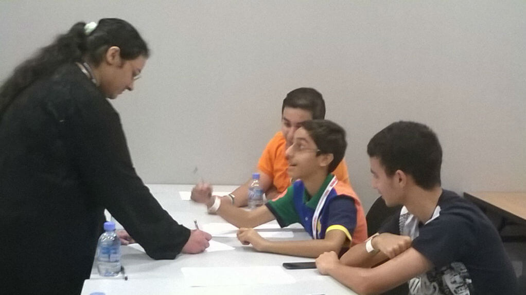 Game Mechanics Design Workshop @IGNConvention 2014 in Bahrain
